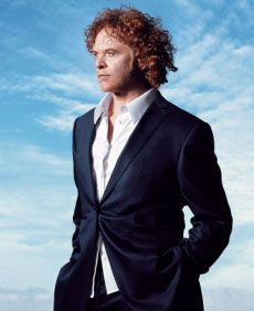 Mick Hucknall from Simply Red. I just got American Soul! Excellent!