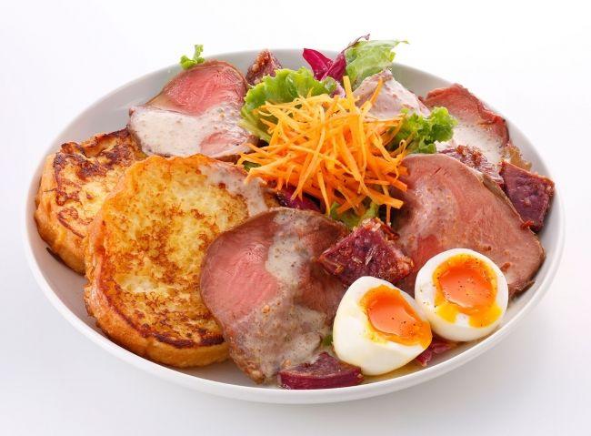 フレンチトースト専門店「Ivorish(アイボリッシュ)」では海老名にて11月1日(火)より、福岡本店・渋谷は11月2日(水)より冬の新メニューを開始いたします。 全店共通で、シーフードをふんだんに使用した「ペスカトーレ」やバージョンアップした「ローストビーフサラダ」などこの時期にぴったりの豪華なラインナップを始め、冬の定番「ベリークリスマス」も登場します。 | わが街情報(関東版)