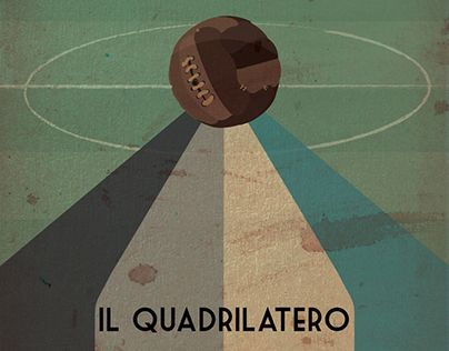 """Check out new work on my @Behance portfolio: """"Quadrilatero Movie Poster"""" http://on.be.net/1W2dnzf"""
