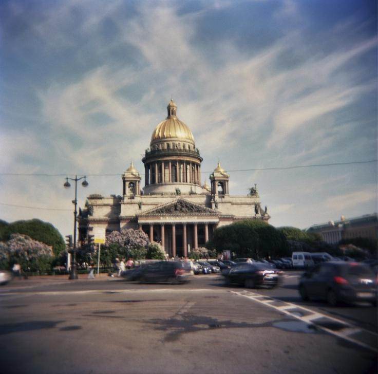 церковь, Kodak VC 120mm, St. Petersburg Russia, June 2011