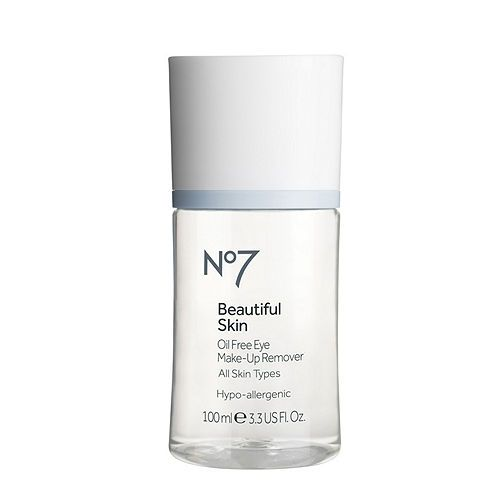Boots No7 Beautiful Skin Oil Free Eye Makeup Remover With Shipping On Orders Over