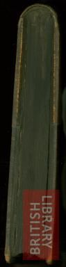 W7 (3406e32, BL, public domain) The main feature, and difference from the more modern 19 Century binding, of the typical Gothic rounded spine was that the spine followed the natural form of the quiers. This resulted in that the manuscript would fully open when laid flat.