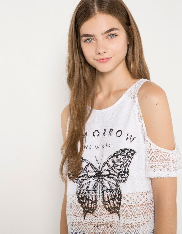 T- Shirts - BSK - Woman - Bershka France