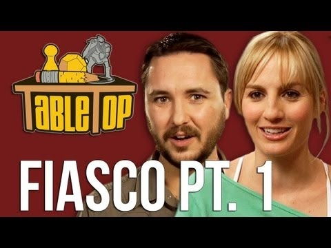 Fiasco: Alison Haislip, Bonnie Burton, and John Rogers join Wil on TableTop, episode 8