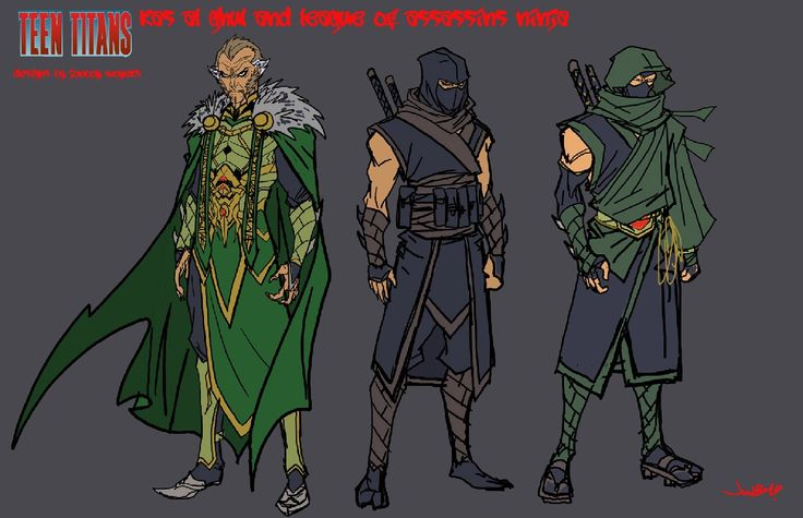 DC: RA'S AL GHUL and the LEAGUE OF ASSASSINS