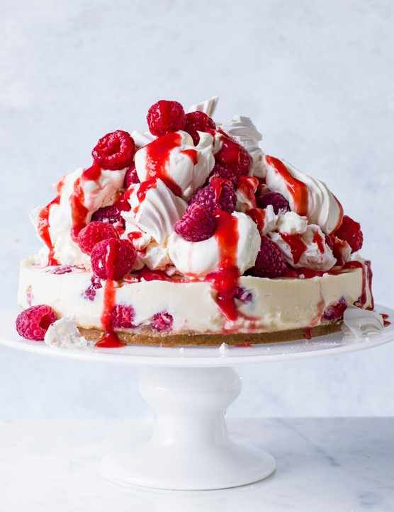 Eton Mess Cheesecake  We've combined two classic British summertime favourites into one seriously indulgent dessert. This fresh and creamy Eton mess cheesecake is the perfect pudding to impress your friends and family with this weekend