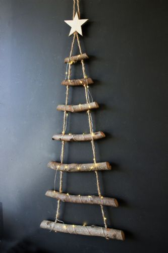 Rope Ladder Christmas Tree