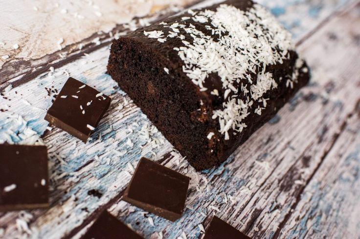 Zimowe, proste i pyszne ciasto czekoladowe - healthy plan by ann