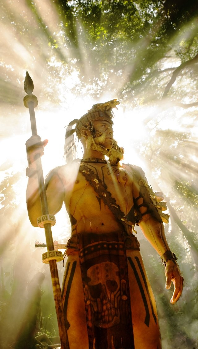 Still of Raoul Trujillo in Apocalypto.