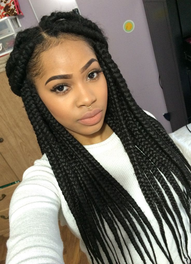 252 best Box Braids images on Pinterest | Protective ...