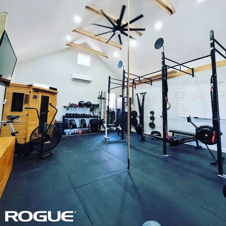 Garage Gym Equipment Rogue Fitness In 2021 Home Gym Inspiration Garage Gym Backyard Gym