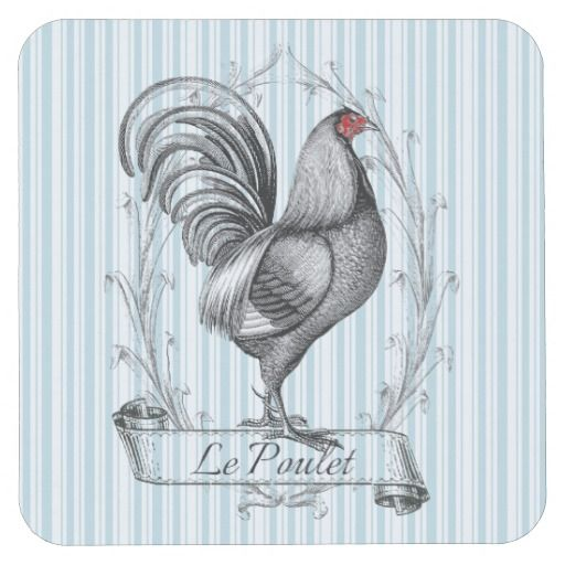 French Rooster Le Poulet