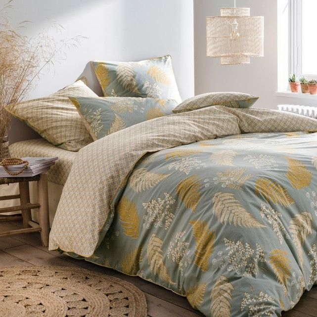 Fougere Duvet Cover In Cotton Percale Bedroom In 2019 Duvet