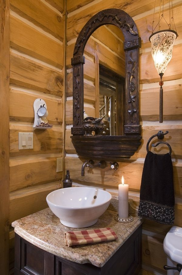 Zillow Rustic Bathrooms: 28 Best Images About Cabin Bathrooms On Pinterest