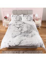 George Home Fantasy Lion Duvet Range