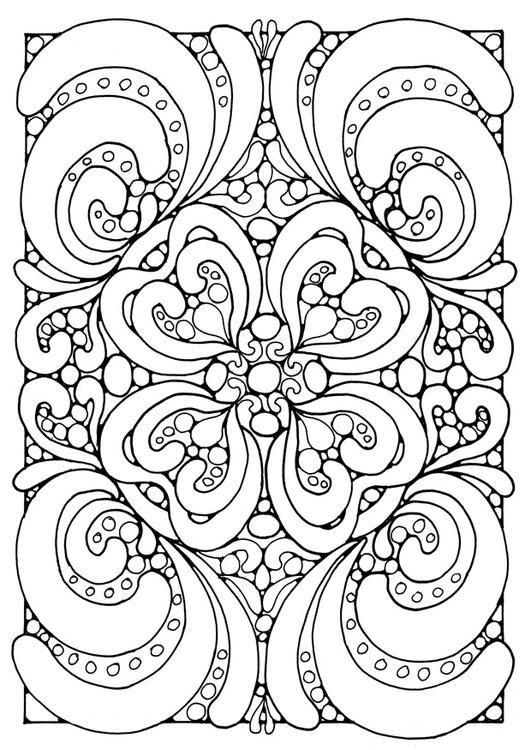 I Think That Mandala Coloring Pages Are More For Adults Than They Kids