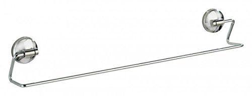 Handtuchhalter Dusche Ohne Bohren : -Loc Handtuchstange – Edelstahl – 55 x 6,7 x 9,7 cm (BxTxH) – OHNE