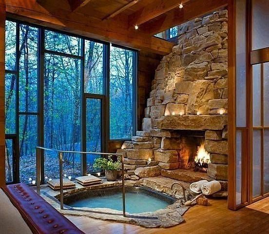 Indoor Outdoor Plunge Pool