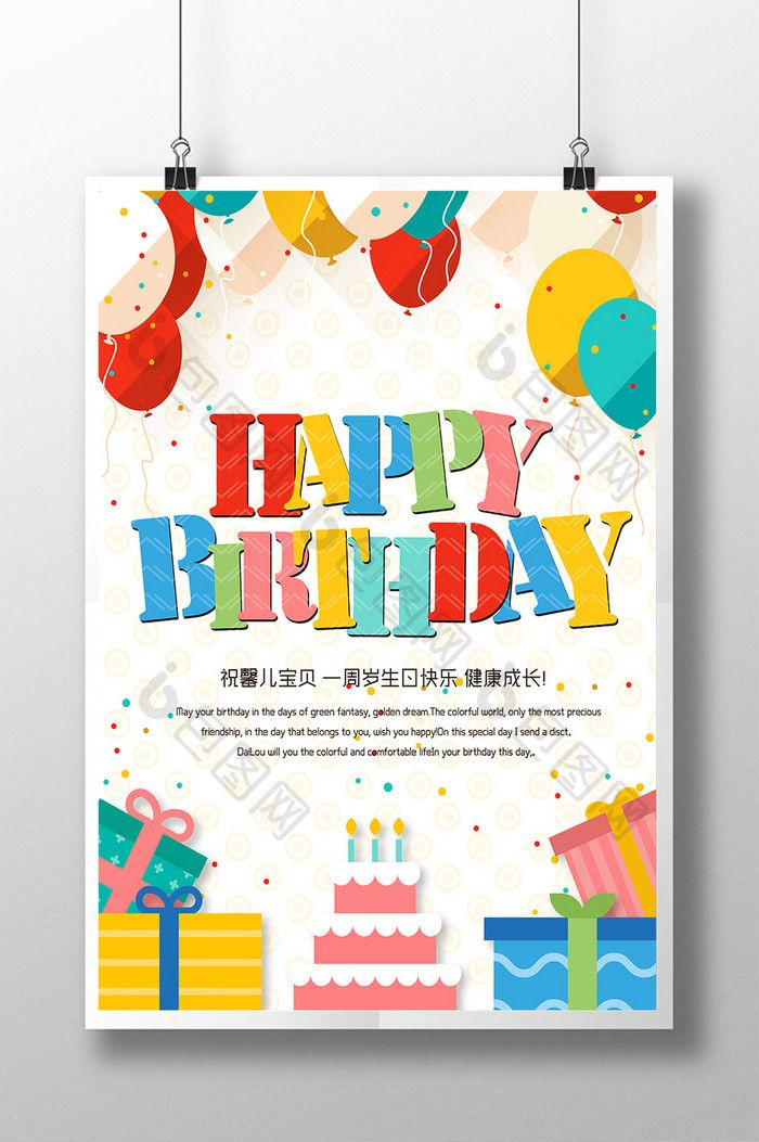 Birthday Posters With Photo