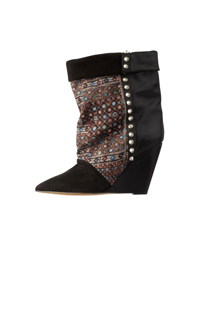Isabel Marant Kate Wedge Ankle Boot