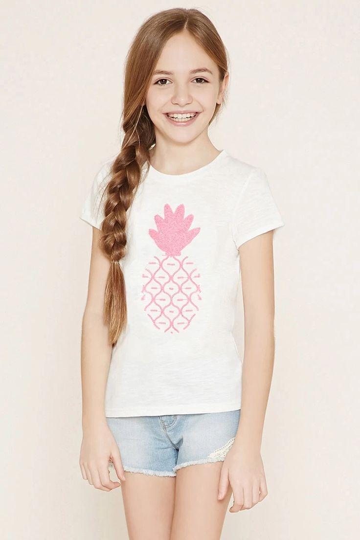 Girls Pineapple Tee (Kids) #f21kids