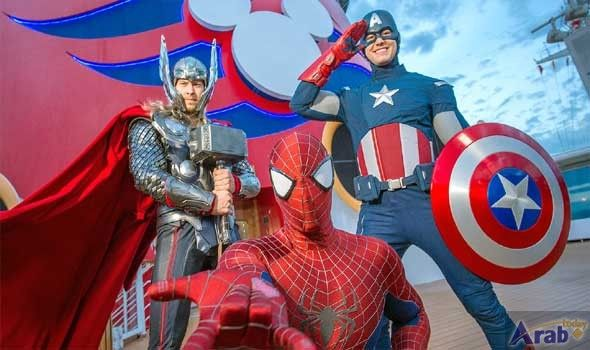 To have Marvel Day at Sea