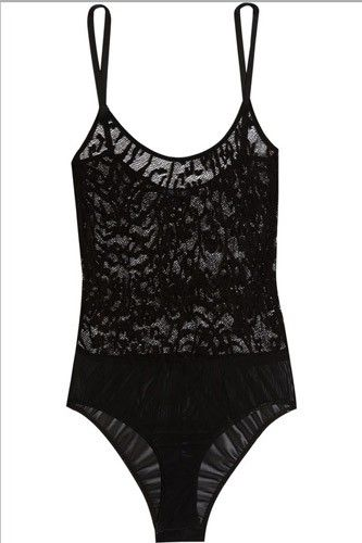 Imagine how adorable this would look on its own. Now think about how cheeky it would be peeking out of a low-cut shirt. Yowza! The Lake And Stars Wave Lace Bodysuit, $245, available at Net-A-Porter. #refinery29 http://www.refinery29.com/best-holiday-lingerie-nyc#slide-9