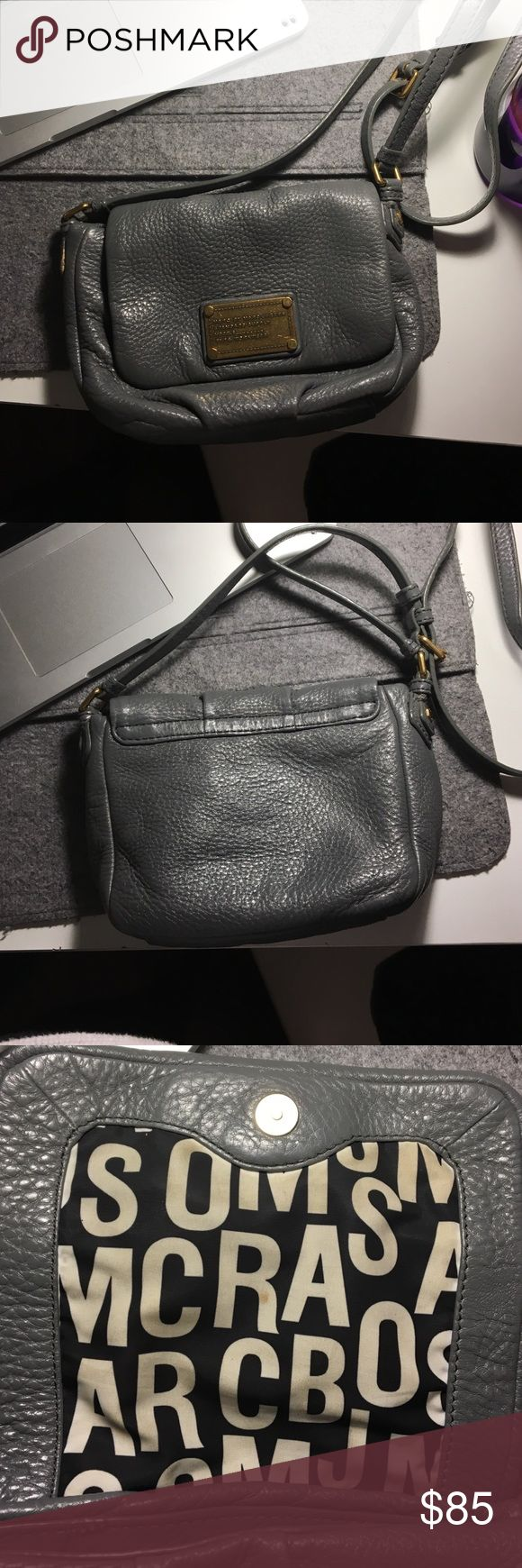 SALE Marc by Marc Jacobs bag Grey mini Marc by Marc Jacobs bag Marc by Marc Jacobs Bags Crossbody Bags