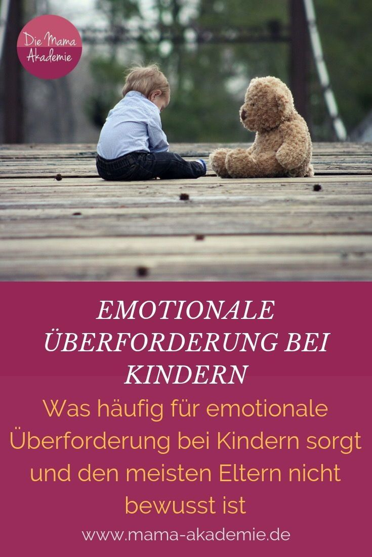 203 Emotional overworking in children – Pädagogik