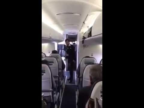Крутая стюардесса