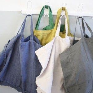 Sac / cabas XL en lin lavé (+ de coloris) - Le Repère des Belettes