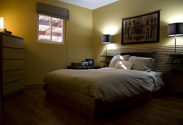 creative use of an ikea mandal headboard bedroom. Black Bedroom Furniture Sets. Home Design Ideas