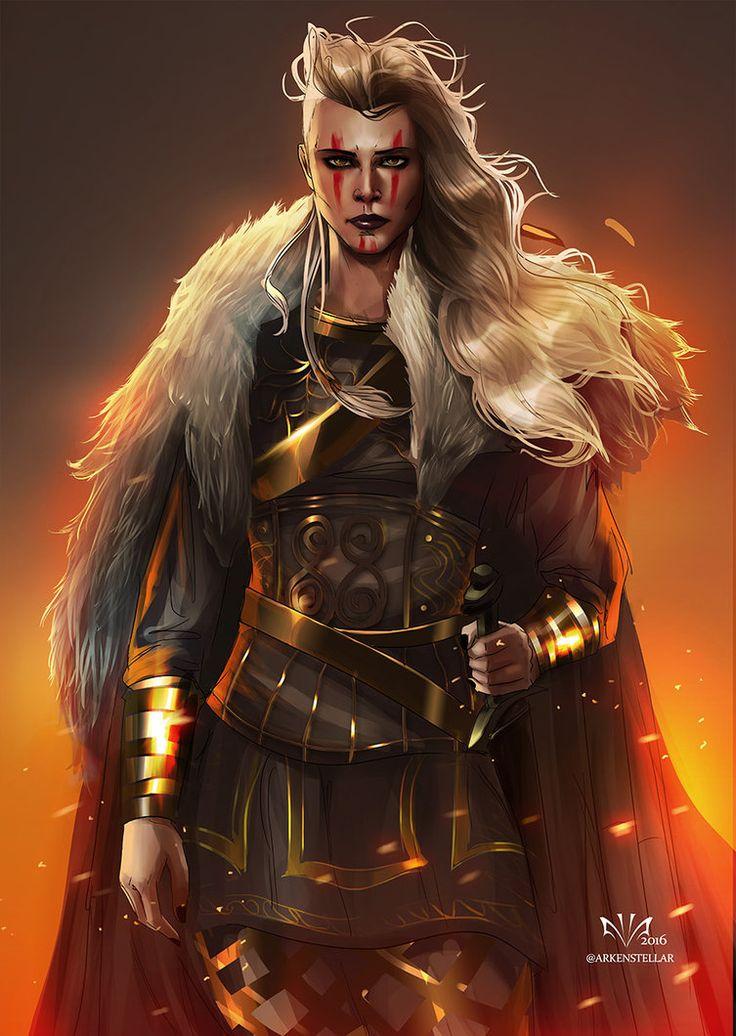 Valkarya - Chefe das Donzelas de Ferro