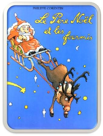 Le Père Noël et les fourmis
