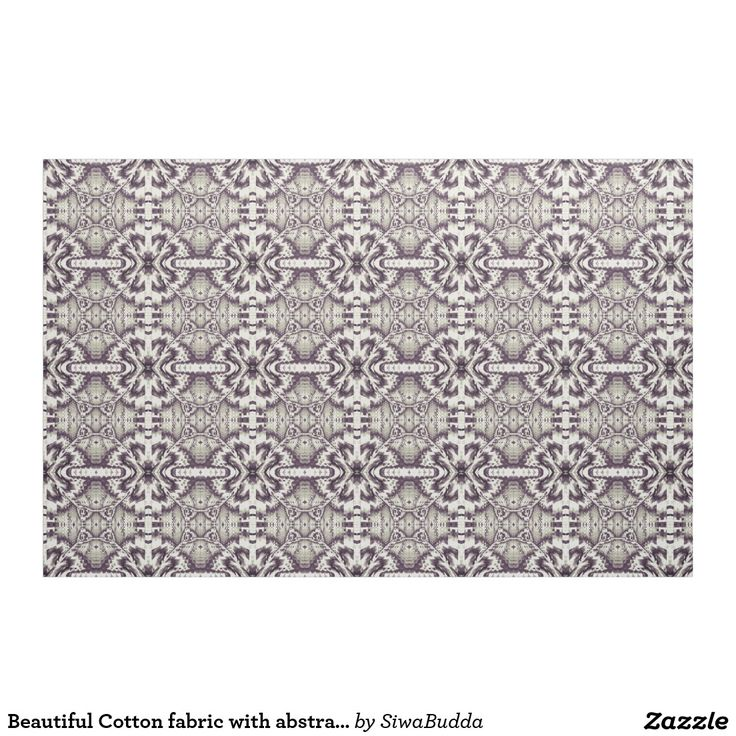 Beautiful Cotton fabric with abstract tiles