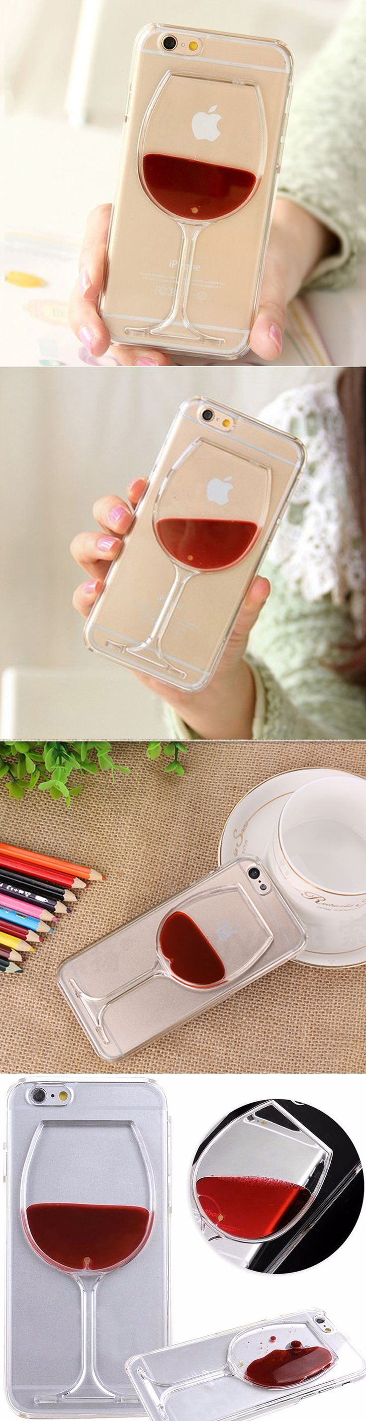 make your iphone unique & stylish using this beautiful glass of wine case