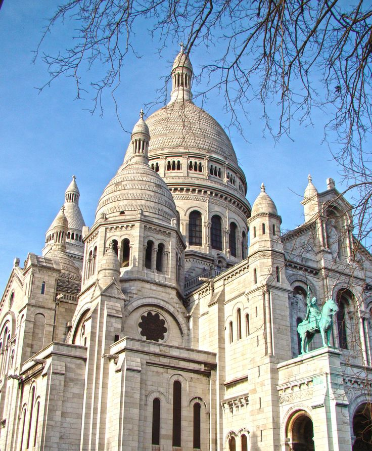 Paryż atrakcje Bazylika Sacre Coeur