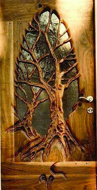 Door with glass | Ruben Guajardo, Woodworker