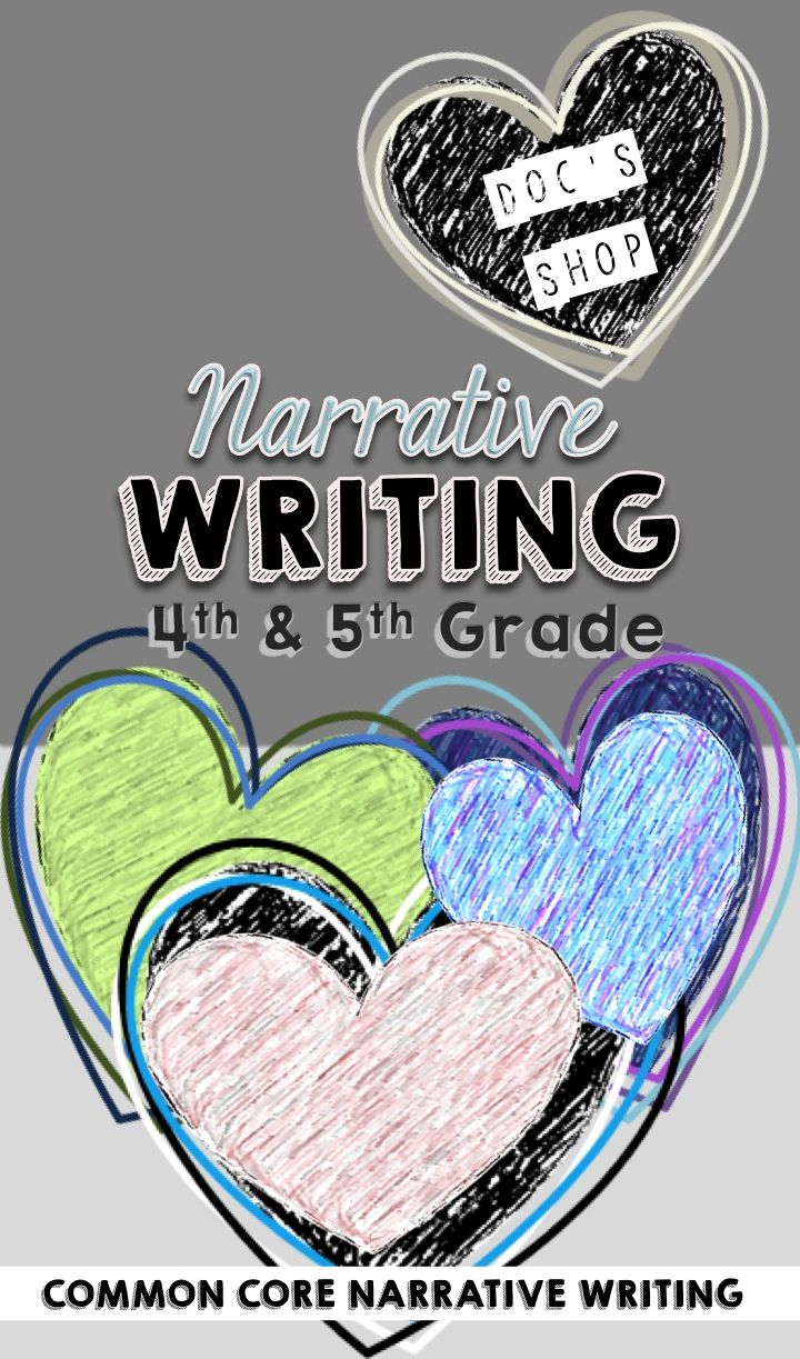 Everything you need to teach narrative writing in 4th and 5th grades. Take students through the creative process of writing within the structure of the Common Core Standards. Activities, lessons, anchor charts, student planning guides and graphic organizers etc.