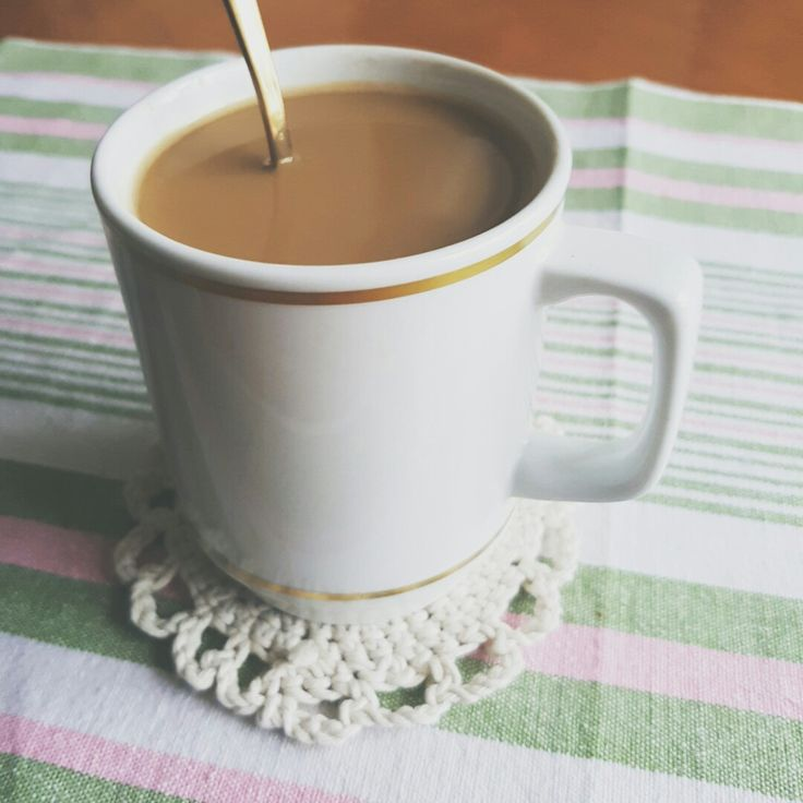 Coffee cup vintage style