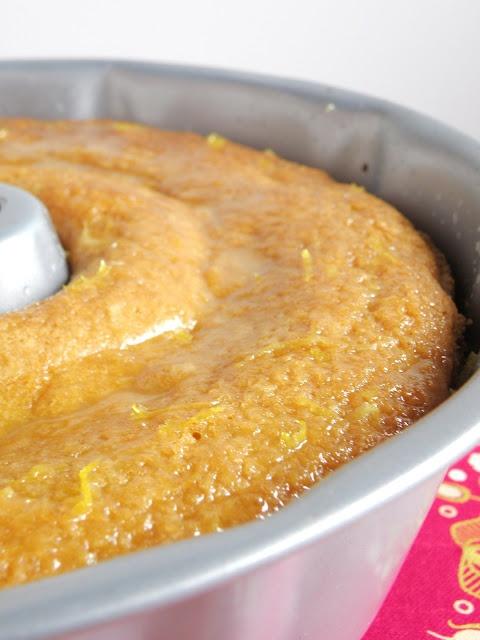 Vegan Lemon & Coconut Bundt Cake
