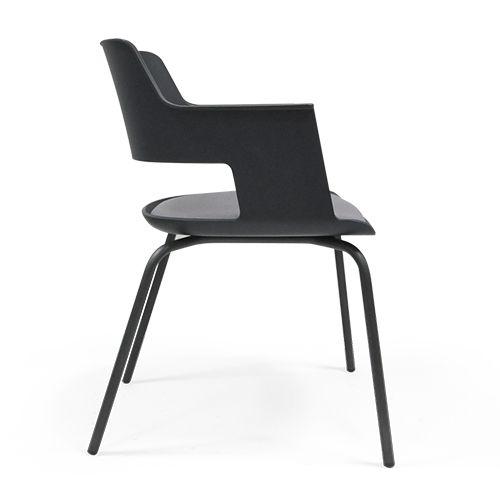 Cappa  Forma 5 Cappa, een stoel van PLAN@OFFICE ontworpen door Forma 5.
