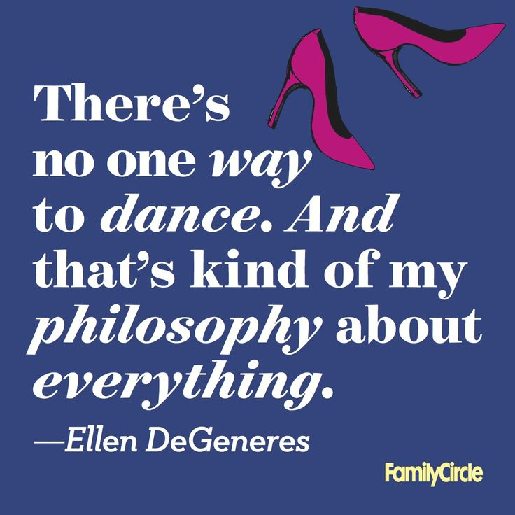 We agree, Ellen! #FamilyCircleWednesdayWisdom