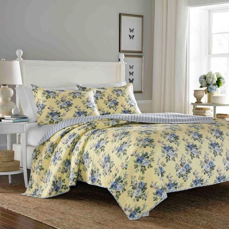 Reversible Three-Piece Full Queen-Size Quilt Set #quilt