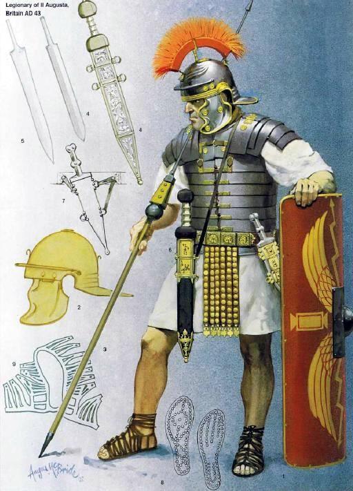 Roman soldier c.1st century AD