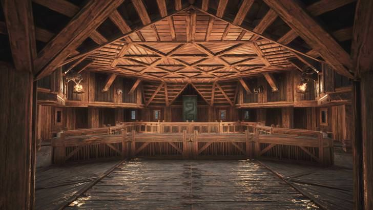 Mounds Of The Dead Map Room In 2019 Conan Exiles