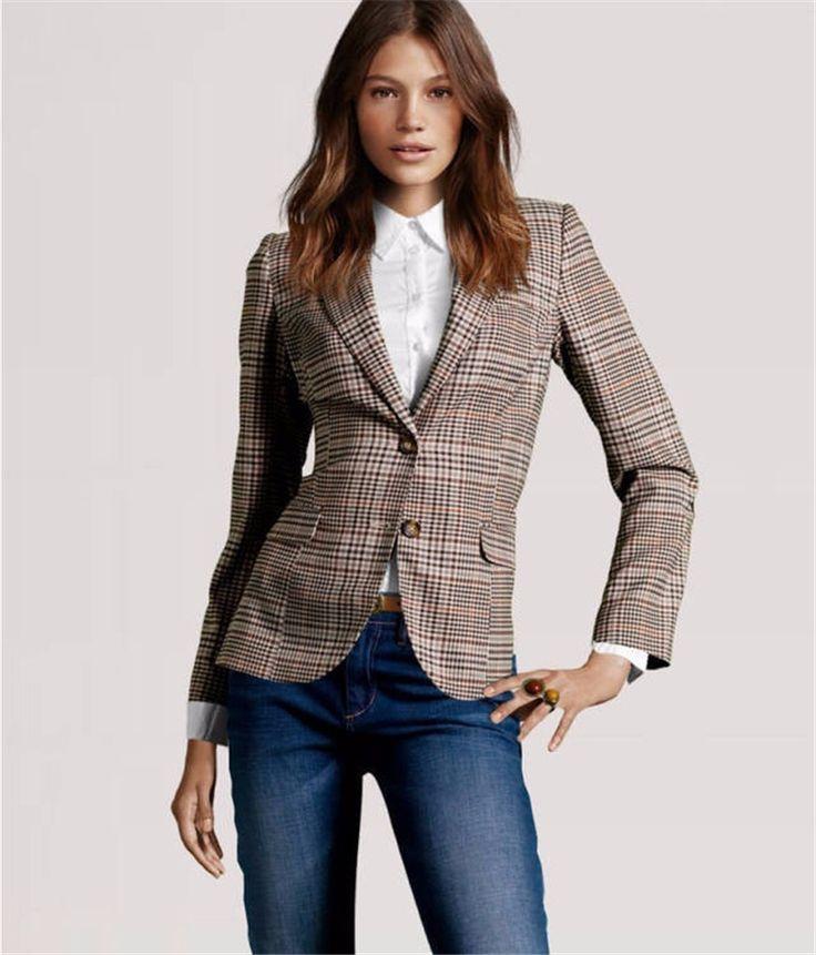 Blazers And Jackets: 56 Best Blazers Femininos Images On Pinterest