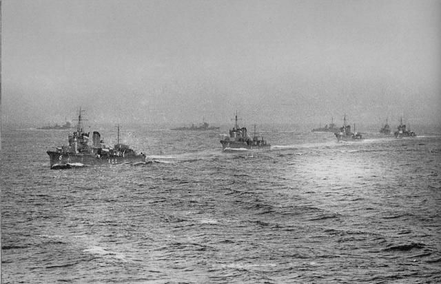 6th Destroyer Division of the Imperial Japanese Navy - the Akatsuki class, also referred to as Fubuki class group III.