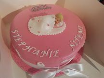 Christening Cake by Sheila's Cake Creation in Essex UK