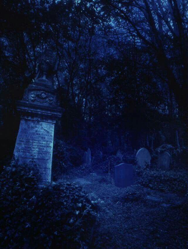 Spooky Cemetary By FP Digital Art